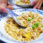 葉牡丹 - 炒飯