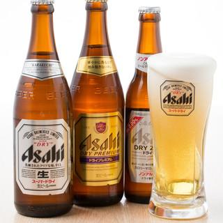 ご宴会コースは全て生ビール付き飲み放題で御用意