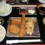 とんかつ 喜太条 - 特選喜太条定食膳¥1980