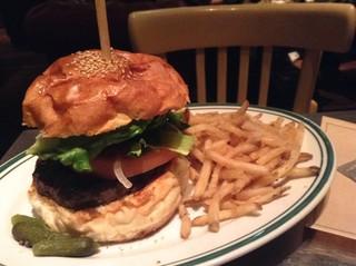 ブルックリンパーラー - ハンバーガー♪