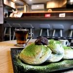Riz Labo Kitchen - 抹茶パンケーキ