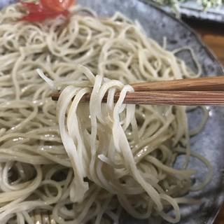 手打そば もみじ野 - 料理写真:蕎麦アップ