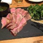 クラフトビアマーケット - 豚ロースのガーリックステーキ