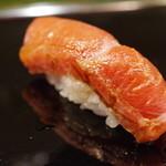 金寿司 - 鮪中トロ