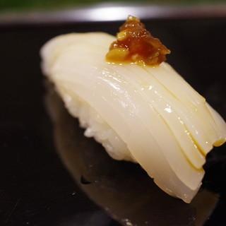 金寿司 - 料理写真:スルメイカ