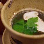 赤坂 詠月 - 松茸の土瓶蒸し