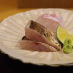 赤坂 詠月 -  お造り:真鯛、カマス