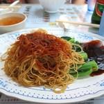 永華麺家 - 料理写真:蠔油蝦子撈麵
