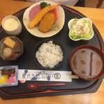 魚七商店 結 - 妻のレディースランチ1000円です。