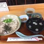 香嵐渓八千代 - 料理写真:自然薯が使われ1000円は良心的です。