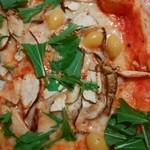 ドーノ - 松茸と銀杏のピザ(11月限定)