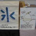 76751554 - 大和の柑橘あんかき氷構成