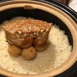 76751706 - 毛蟹とカニコロッケの炊き込みご飯