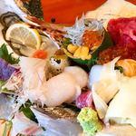 魚竹 - 特上海鮮丼ランチ¥1400
