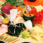 魚竹 - 海鮮丼ランチ¥1200