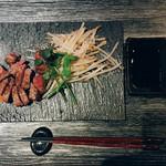 池袋 鉄板焼 焔 - A5ランク黒毛和牛サーロインステーキ