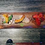 池袋 鉄板焼 焔 - 焼き野菜