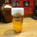 台湾料理 光春 - 生ビール570円