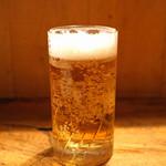 ちょうちん - 生ビール 小