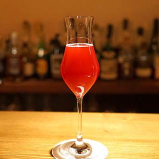 Bar柿沼 - ザクロとシャンパンのカクテル