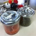 てんま - 定番の 高菜と紅ショウガ