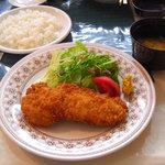 レストラン白鳥 - とんかつ定食