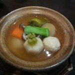 こうの湯 - 根菜のやわらかスープ
