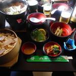 谷川岳ドライブイン お菓子の家 - 松茸御膳