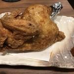 炭火串焼と旬鮮料理の店 備長炭焼 遠州葵家 - 鶏半身揚げ
