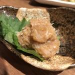 炭火串焼と旬鮮料理の店 備長炭焼 遠州葵家 - 梅水晶