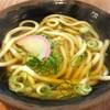 松屋うどん - 料理写真:「かけうどん」(200円)。