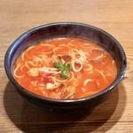 76772014 - 魚介のスープスパゲティ(日替りパスタ)