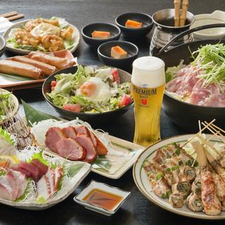 各種ご宴会にコスパ抜群のお得なコース料理をご用意しております