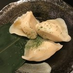 大衆昭和居酒屋 川崎の夕焼け一番星 - 海老入り水餃子