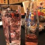 大衆昭和居酒屋 川崎の夕焼け一番星 - バイスサワー