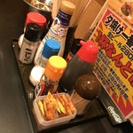 大衆昭和居酒屋 川崎の夕焼け一番星 - テーブルの上の色々