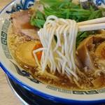 もんど - 中細のストレート麺