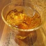 プーレロティ神戸 - フリードリンクのアップルジュース