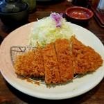 いなば和幸 - 料理写真:ロースカツランチ 850円(税抜)
