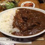 76775731 - 特製牛すじカレー(大盛)