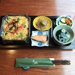 文殊 - 文殊ちらし寿司Set