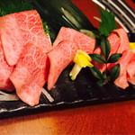 東海亭 - 松坂牛刺身