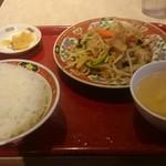 76778808 - 肉野菜炒め定食
