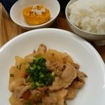 カフェガーデンさら - 豚バラ大根定食