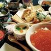 遊楽食 陽炎 - 料理写真:いくら御飯と天ぷらのランチ