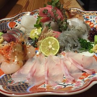 毎日届く産直の鮮魚が美味い!!