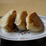 久米食堂 - 焼き餃子・・想像以上にボリューミィー