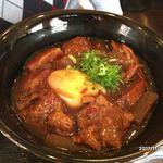 おでん惣菜 如月 - 豚バラナンコツ角煮丼