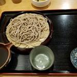 そば処 英太郎 - 田舎せいろ720円