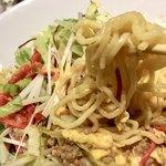 天津飯店 - 際shに麺をよくかき混ぜていただきます